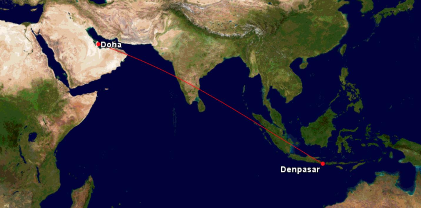 qatar airways lance un vol direct vers bali en boeing 787 dreamliner air info. Black Bedroom Furniture Sets. Home Design Ideas
