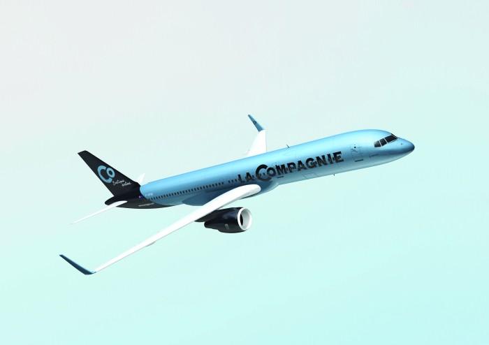 Boeing 757-200 de La Compagnie - © La compagnie